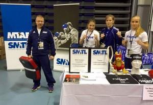 SMTL:n osastosta vastasivat Arto Vuoma, Siiri Tura, Katarina Perkkiö ja Anette Österberg