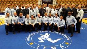 IFMA:n tuomaristo MM-kilpailuissa